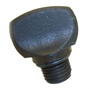 Black Thumb Screw Plug For Pacer Pump