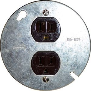 Duplex Receptacle On Inch Cover