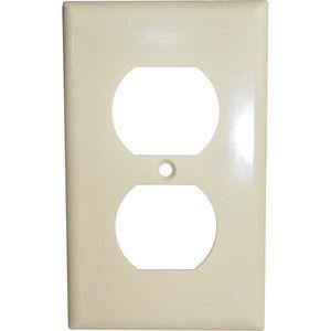 Duplex Receptacle Plastic Ivory