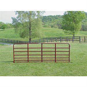 TARTER 7-Bar Heavy Duty Bull Gate, 16 Ft. Long