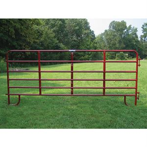Corral Panel, 6-Bar, Heavy-Duty, 16 Ft.