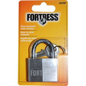 Solid Aluminum Padlock, 1-1/2 In.