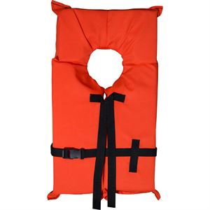 Child Medium Orange Vest, 50-90 Lbs.