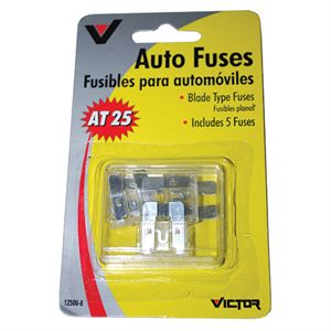 Blade Type Fuse, 25 AMP, 5 Pack