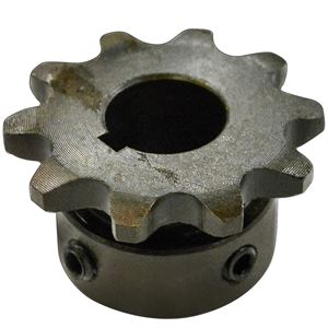Roller Chain Sprocket, 10 Teeth, 35BS10