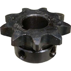 Roller Chain Sprocket, 9 Teeth 40BS9