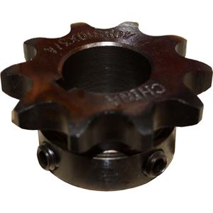 Roller Chain Sprocket, 10 Teeth, 40BS10