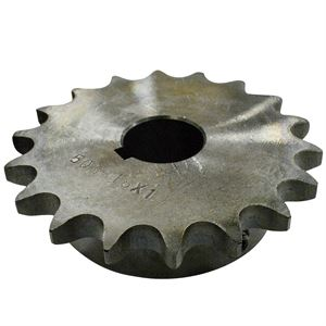 Roller Chain Sprocket, 18 Teeth, 50BS18