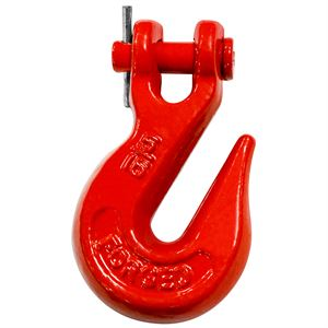 Clevis Grb Hook Heat Treated Ptd Red
