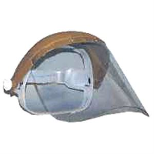 Headgear & Spark Deflector Shield