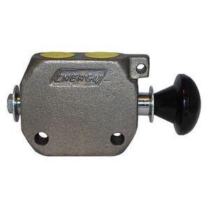 Hydraulic Control Valve Knob Ports