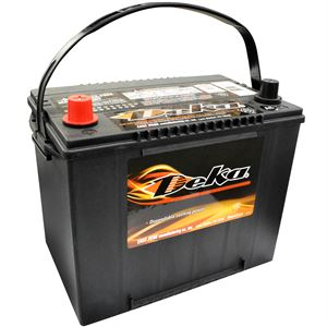 Wet Charge 12 Volt Auto Battery 550 CCA