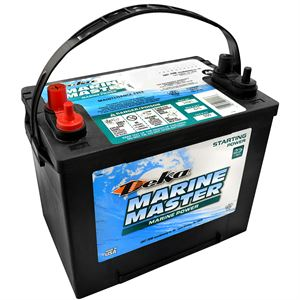 Deka Marine Starting Battery, 12 Volt, 550 CCA