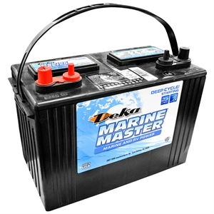 Deka Marine Starting Battery, 12 Volt