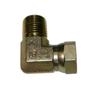 90 Degree, Swivel Hydraulic Fitting, NPT, 1/2
