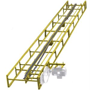 Bale Conveyor, 16 Ft., Drag Chain Included