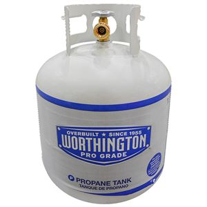 LP Gas Cylinder, 20Lb. Propane Tank with POL Safety Plug