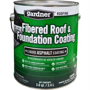 Fibered Roof & Foundation Coating Gallon