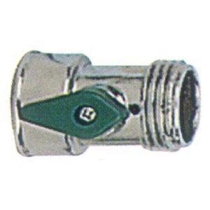 Zinc Water Shutoff Valve