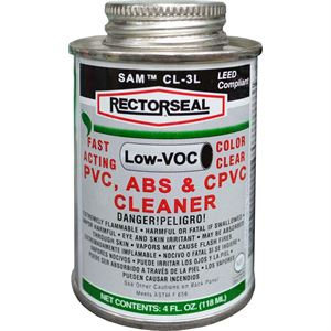 Clear Pvc Cpvc & Abs Cleaner Oz