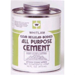 Clear Medium Bodied Pvc Cement Oz
