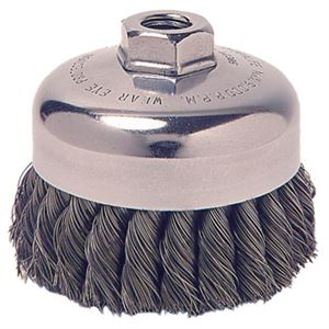 Wire Cup Brush Twist Sgl Row