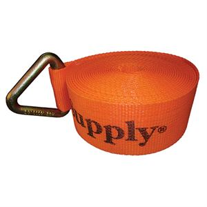 Winch Strap, 3 In. x 27 Ft., 4,335 Lb. Capacity