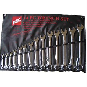 14-Piece Combination Wrench Set, Sae