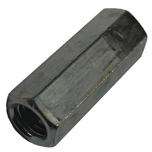 Threaded Rod Coupler, 7/16 In. x 1-3/4 In.