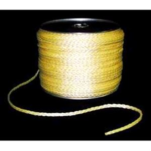 Hollow Braided Rope Yellow