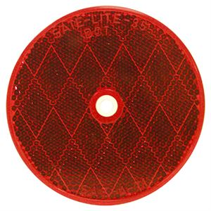 Center Mount Red Reflector