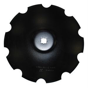20 Disc Blade, Notched, 5 MM, 1-1/8 x 1-1/4 Sq. Axle