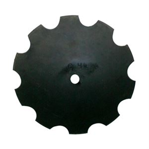 20 Inch Notched Disc Blade with Concavity