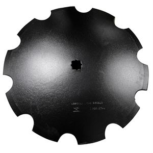 22 Inch Notched Disc Blade with Concavity