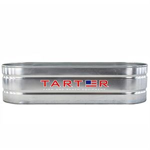 TARTER 300 - Gallon Galvanized Oval Stock Tank
