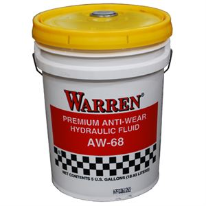 Premium AW-68 Hydraulic Oil, 5 Gallons