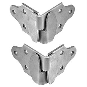 Corner Stake Rack Connector Set, Left and Right Side