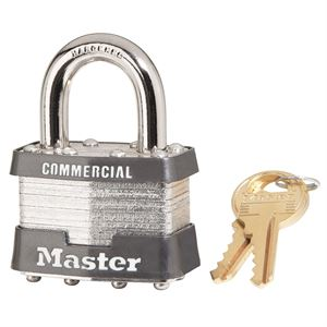 Laminated Padlock Keyed Alike