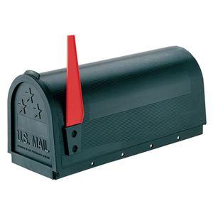 Poly Mailbox Black