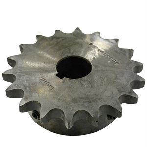 Roller Chain Sprocket, 18 Teeth, 40B18