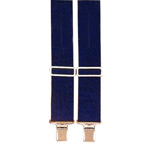 Navy Blue Heavy Duty Suspenders