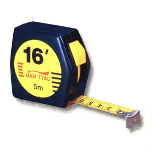 Measuring Tape Abs Black Case