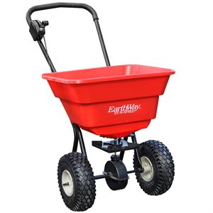 EarthWay Estate Push Broadcast Spreader, 80 Lb. Capacity