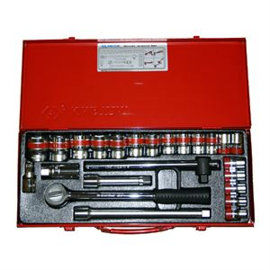 Pc Socket Set Dr Point Sae