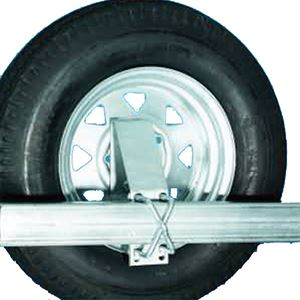 Side Mount Tire Carrier Galv