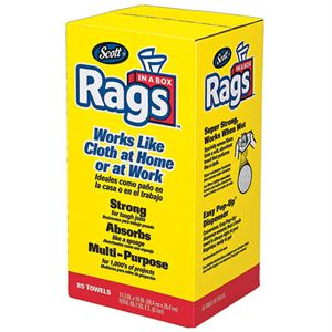 Scott® Rags in a Box, 85 Count