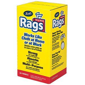 Scott® Rags in a Box, 85 Count