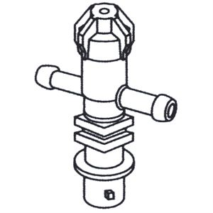 Double Shank Diaphragm With Check Valve Double Hose