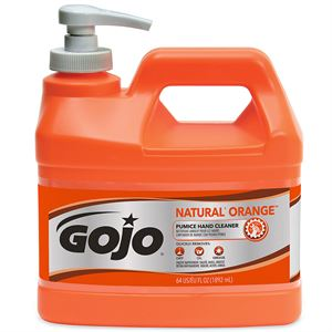 Orange GOJO with Pumice Hand Cleaner