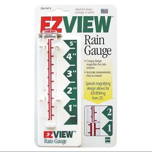 EZ View Rain Gauge, 5 In.